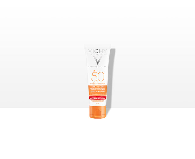 Anti-Aging 3-in-1 antioxidante verzorging SPF 50 | Vichy Ideal Soleil