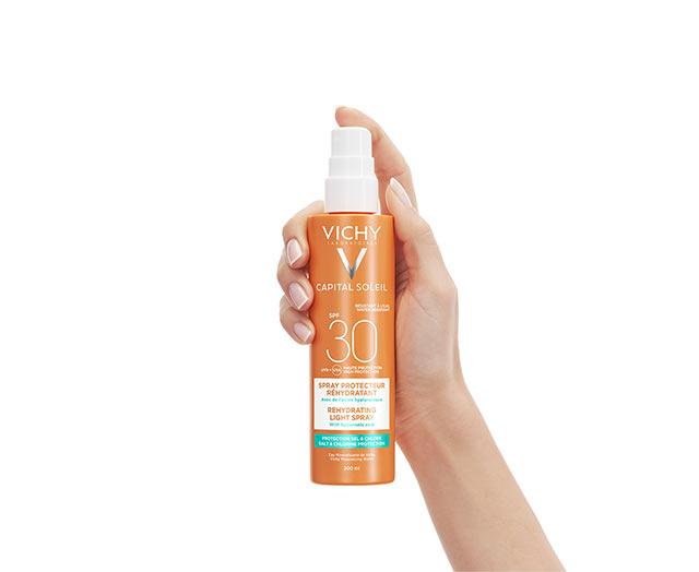 BEACH   PROTECT - Anti-dehydratatie zonbeschermingsspray- SPF 30