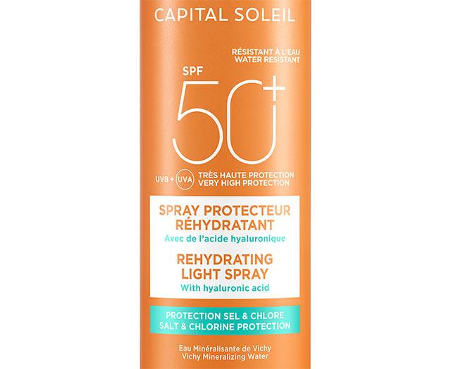 BEACH PROTECT - Anti-dehydratatie zonbeschermingsspray - SPF 50+