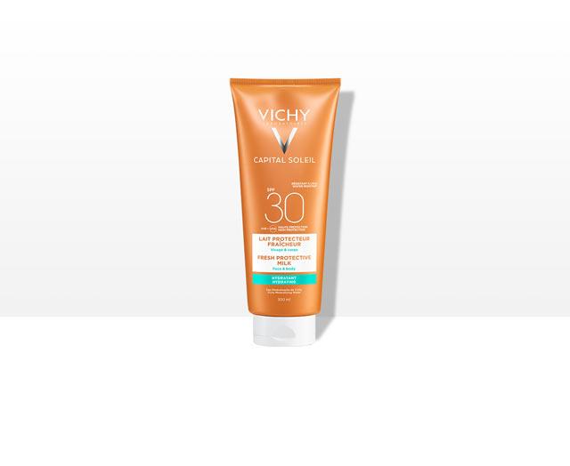 BEACH   PROTECT - Frisse hydraterende en beschermende zonnemelk - Gezicht &   Lichaam- SPF 30