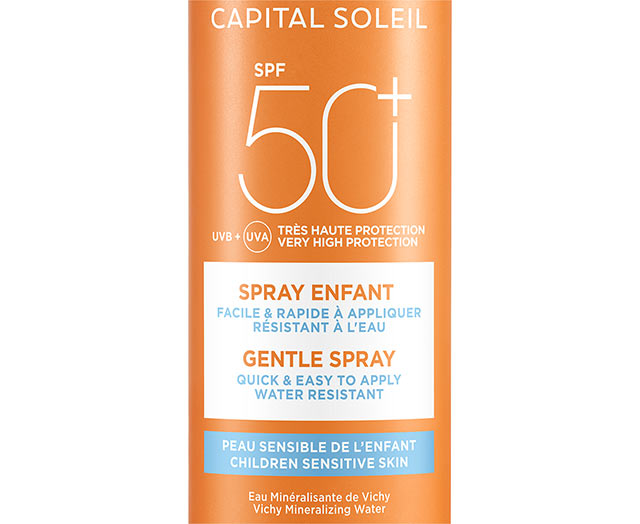 Zonnebrand spray kind SPF 50+ - Vichy