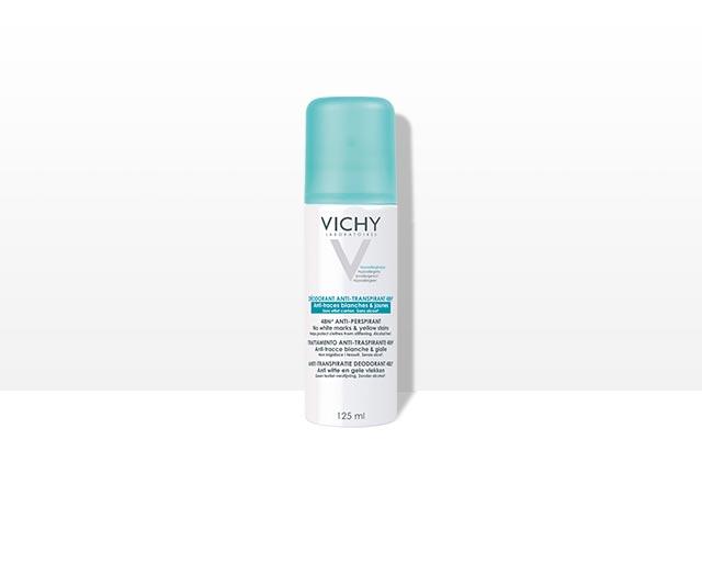 Anti-transpiratie deodorant spray 48U anti-witte en gele vlekken