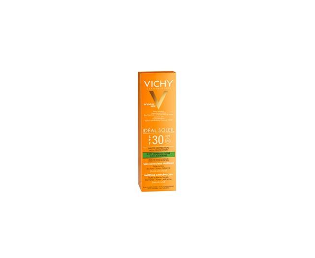 Matterende Verzorging tegen Onzuiverheden SPF 30 - Ideal Soleil - Vichy