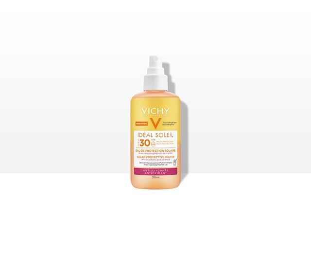 Ideal Soleil Zonbeschermend Water SPF 30 – Anti-oxidant | Vichy