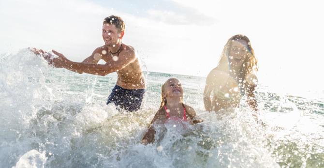 Goed insmeren, de beste manier om je huid te beschermen op het strand