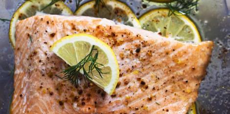 Zalm: gezonde vetten voor een stevige huid