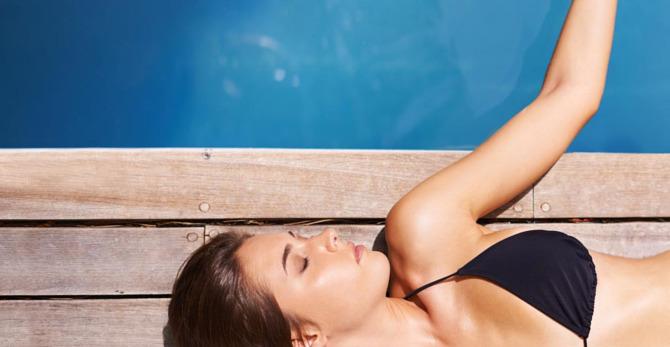 Je huid verzorgen tijdens een warme, zonnige dag