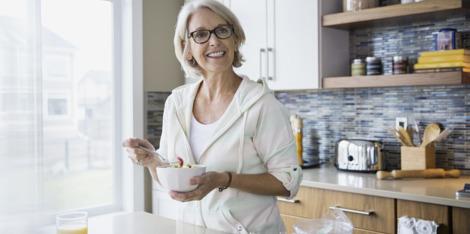 17 ingrediënten voor gebalanceerde voeding tijdens de menopauze