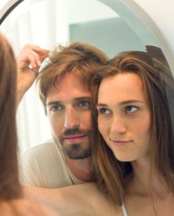 Haaruitval, het verschil tussen mannen en vrouwen